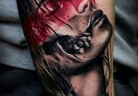 invictus-tattoo-berlin-Biro-Blanka-tetovalo-tattooist-tattoo-artist-Portrait-Frau-abstrakt
