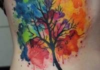 Invictus-Tattoo-Berlin-Budapest-tattoo-artist-taetowiererin-Zsofia-Sophie-Buza-aquarell-watercolor-tree-baum