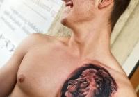 Invictus-Tattoo-Budapest-Berlin-Csaba-Koszegi-tattooist-tetovalo-artist lion oroszlan lowe-realistic-realistisch