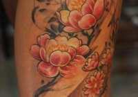 Invictus-Tattoo-Berlin-Budapest-tattoo-artist-taetowierer-Csaba-Koszegi-blume-flower-japan