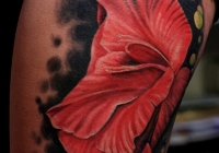 Invictus-Tattoo-Berlin-Budapest-tattoo-artist-taetowierer-Csaba-Koszegi-blume-flower-bunt-farbe-