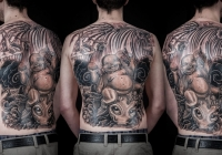 Invictus-Tattoo-Berlin-Budapest-tattoo-artist-taetowierer-Csaba-Koszegi-buddha-schwarz-new-school