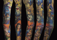 invictus-tattoo-berlin-budapest-laci-kovacs-realistic-color-snowwhite-disney-beuty