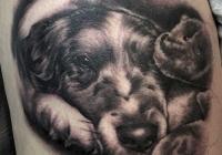 invictus-tattoo-berlin-budapest-laci-kovacs-realistic-scharzweiss-blackandgrey-portait-dog-hund
