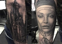 invictus-tattoo-berlin-budapest-laci-kovacs-realistic-scharzweiss-blackandgrey-portait-nurse-city