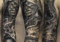 invictus-tattoo-berlin-budapest-laci-kovacs-realistic-scharzweiss-blackandgrey-samurai