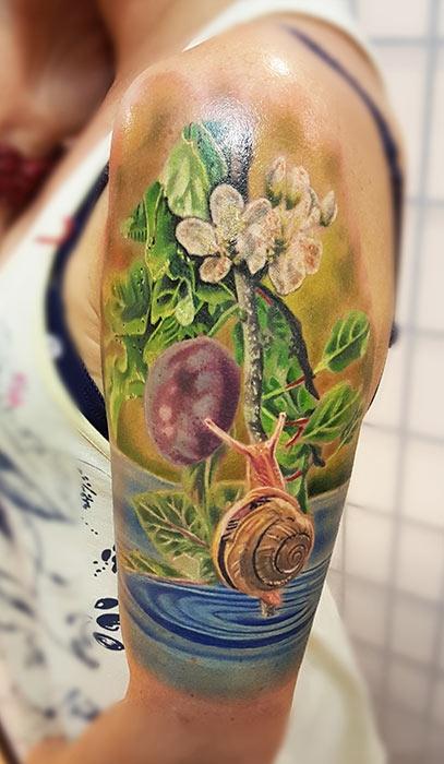 Gyula Szilvasi Invictus Tattoo Berlin