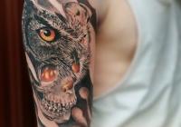 Invictus-Tattoo-Budapest-Berlin-Teglas-Attila-tetovalo-realistic-eule-owl-bagoly-skull-totenkopf-farbe