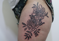 Invictus-Tattoo-Berlin-Tekla-flower-peony