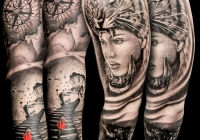 Zsolt Invictus Tattoo Berlin 03