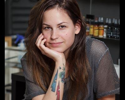 Blanka Biro tattooist